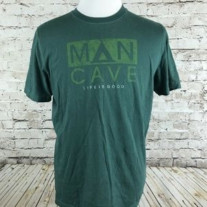 Life Is Good Men's T-Shirt Size M Green
